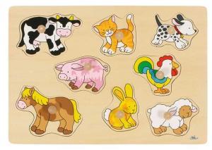 Puzzle cuccioli animali