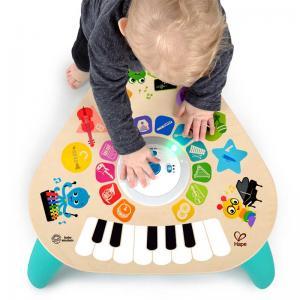 Tavolo sonoro con tecnologia touch hape toys