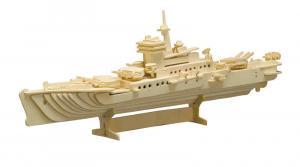 Puzzle 3D in legno Incrociatore