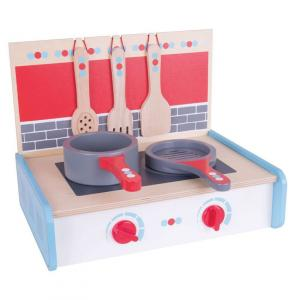 Cucina portatile in legno