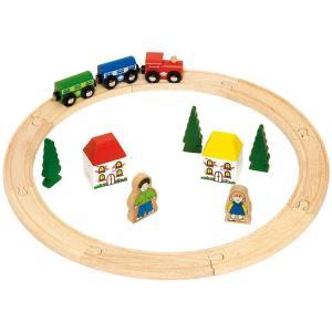 Trenino con circuito anello