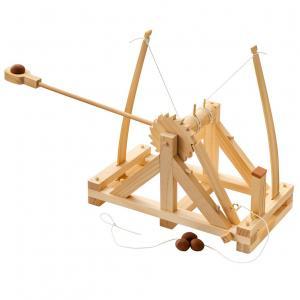 La Catapulta di Leondardo da Vinci