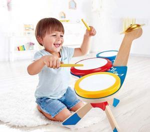 Set batteria e piatti Hapa toys E0613
