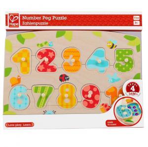 Puzzle numeri con pomelli