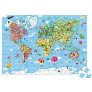 Valigetta Puzzle - Mappa del mondo