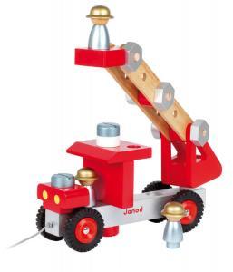 Camion dei pompieri fai da te