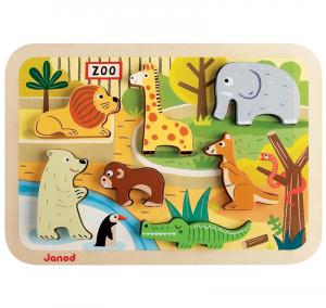 Puzzle animali dello Zoo