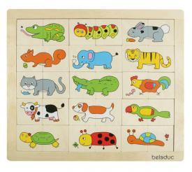 Puzzle - Trova e mescola animali