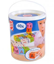 Barile con cubi ABC 123