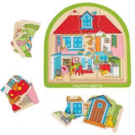 Puzzle 3 strati - Casa