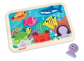 Puzzle animali marini