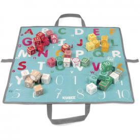 Kubix - 40 cubi in legno lettere e numeri
